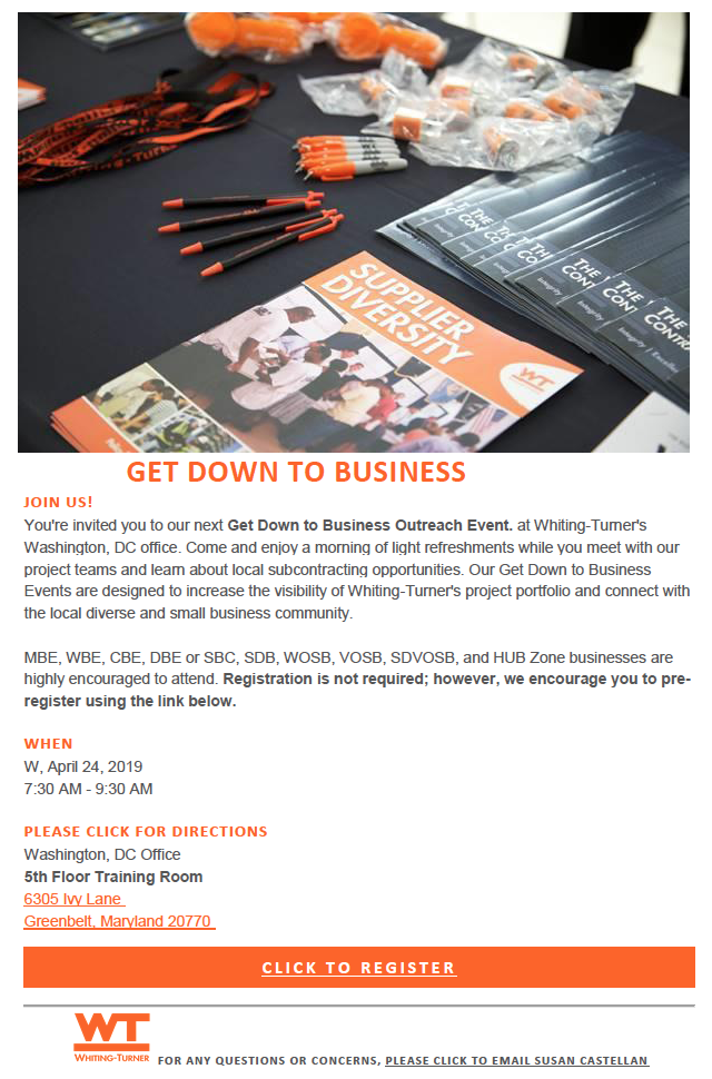 Get Down To Business Outreach Event - AHCC Alliance for Hispanic